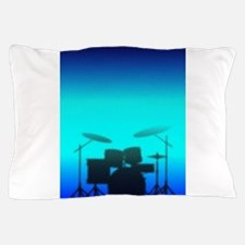 Halftone Band Poster Pillow Case