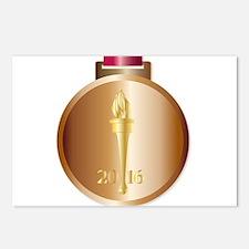 Bronze Medal Postcards (Package of 8)