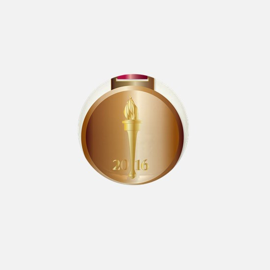 Bronze Medal Mini Button (100 pack)