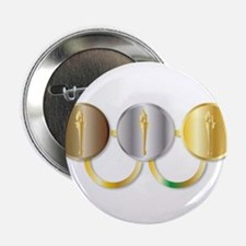 "Medal Olympic Rings 2.25"" Button"