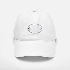 Porcelain Plaque Baseball Baseball Cap