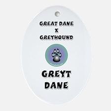 Greyt Dane Keepsake (Oval)