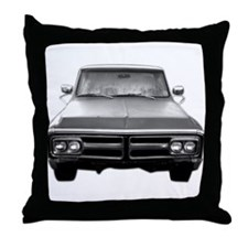 72 GMC Stepside Throw Pillow