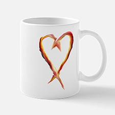 Flame Heart Mugs
