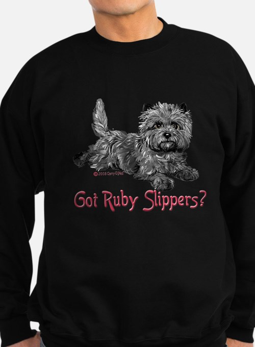 Cairn Terrier Ruby Slipper Sweatshirt