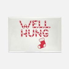 Well Hung Rectangle Magnet