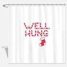 Well Hung Shower Curtain