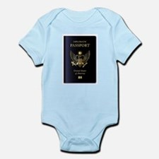 USA Diplomatic Passport Body Suit