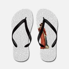 Pride and Prejudice Flip Flops