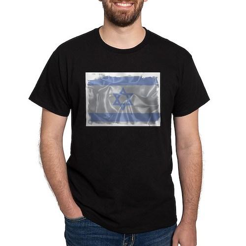 Israel Silk Flag T-Shirt