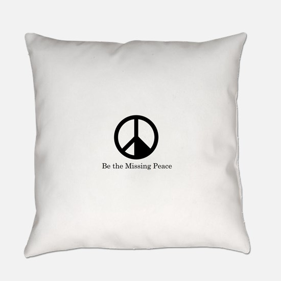 Missing Peaces Everyday Pillow