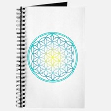 Flower of Life - Aqua Journal