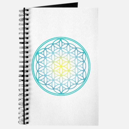 Flower of Life - Aqua Journal
