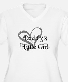 daddys little girl Plus Size T-Shirt