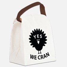 Yes We Cran Canvas Lunch Bag