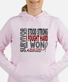 Survivor 4 Brain Tumor Shirts and Gift Sweatshirt