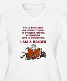 I'm a reader Plus Size T-Shirt