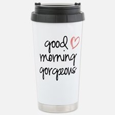 Good Morning Gorgeous Travel Mug