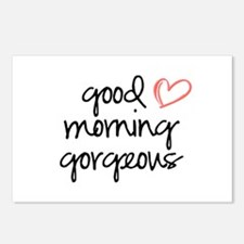 Good Morning Gorgeous Postcards (Package of 8)