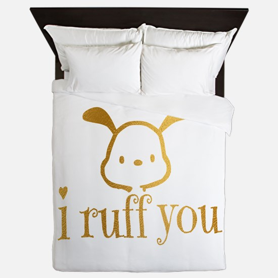 I Ruff You Queen Duvet
