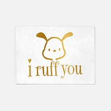 I Ruff You 5'x7'Area Rug