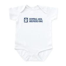 CENTRAL ASIA SHEPHERD DOG Infant Bodysuit