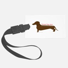 Sausage Dogs Rule Luggage Tag