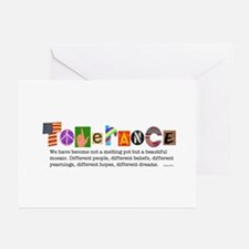 Tolerance Greeting Cards