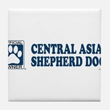 CENTRAL ASIA SHEPHERD DOG Tile Coaster