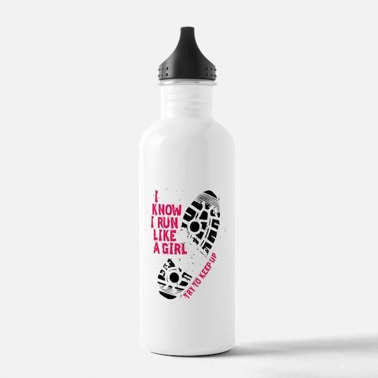 I Know I Run Like a Gi Water Bottle