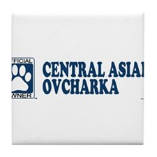 CENTRAL ASIAN OVCHARKA Tile Coaster