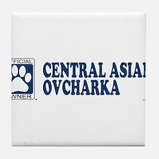 CENTRAL ASIAN OVCHARKA Tile Coaster