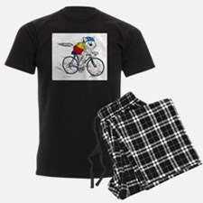 Bicycle Cat in color.jpg Pajamas