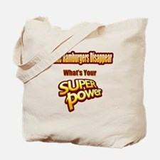 Funny Bacon powered Tote Bag