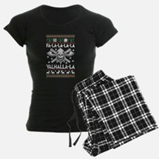 Christmas Firefighter T Shirt Pajamas