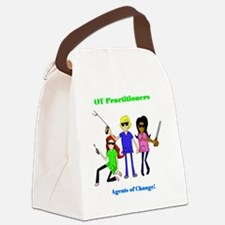 Funny Therapist Canvas Lunch Bag