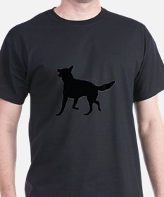 German Shepherd Silhouette T-Shirt