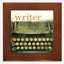 typewriterwriter.png Framed Tile