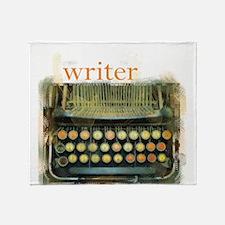 typewriterwriter.png Throw Blanket