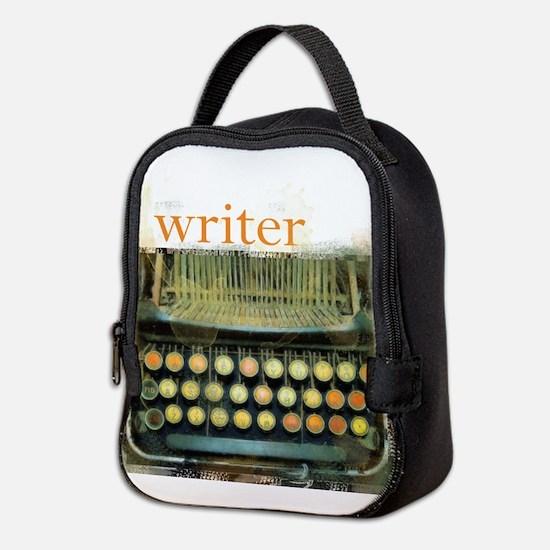 typewriterwriter.png Neoprene Lunch Bag