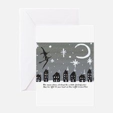 yulewithverse Greeting Cards