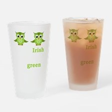 Funny Women%27s st patrick%27s day Drinking Glass