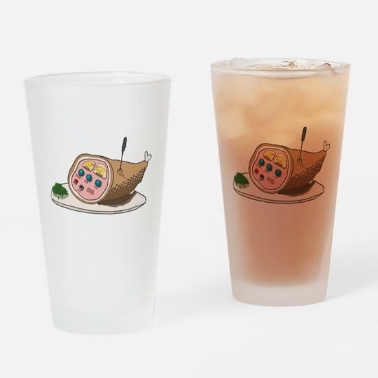 SAT_hamradio.png Drinking Glass