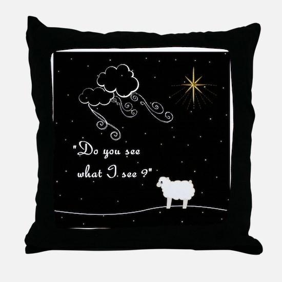 Funny Religious christmas Throw Pillow