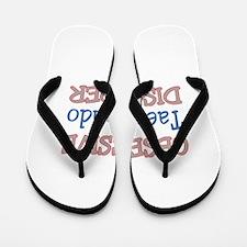 Obsessive Taekwondo disorder Flip Flops