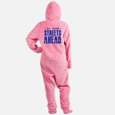 Streets Ahead Footed Pajamas