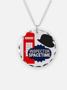 Inspector Spacetime Necklace