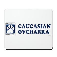 CAUCASIAN OVCHARKA Mousepad