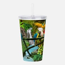 Parrots of the Hidden Jungle Acrylic Double-wall T