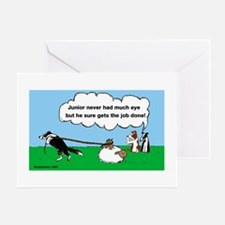 Junior Herds Greeting Card